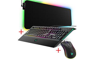 Перфектният геймърски сет oт Tronsmart – клавиатура + мишка + подложка